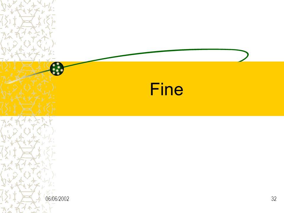 Fine 06/06/2002
