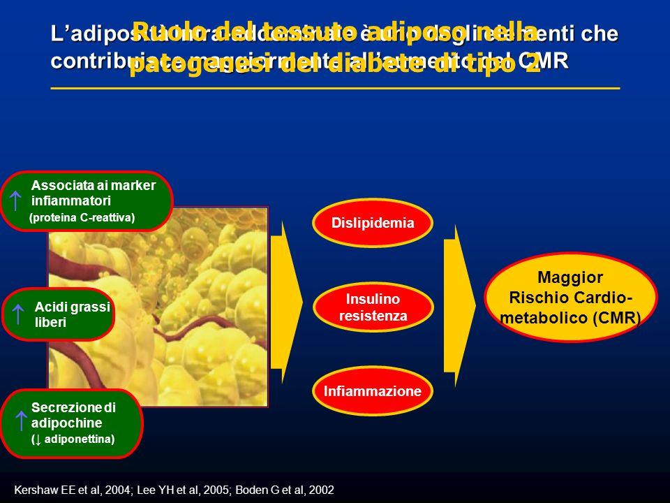 Ruolo del tessuto adiposo nella patogenesi del diabete di tipo 2