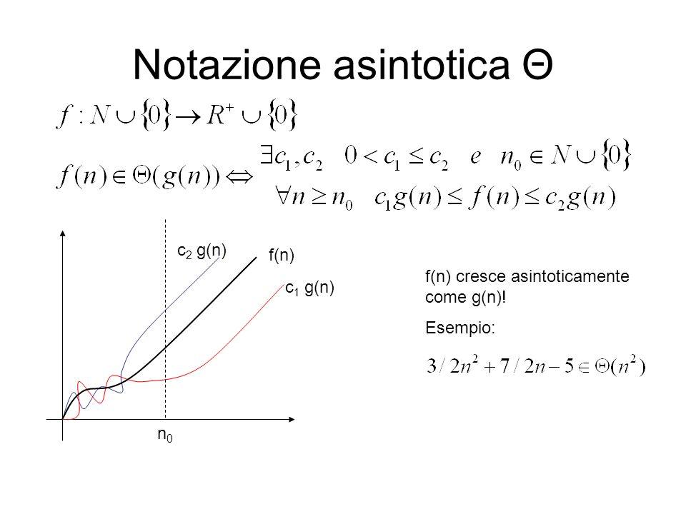 Notazione asintotica Θ