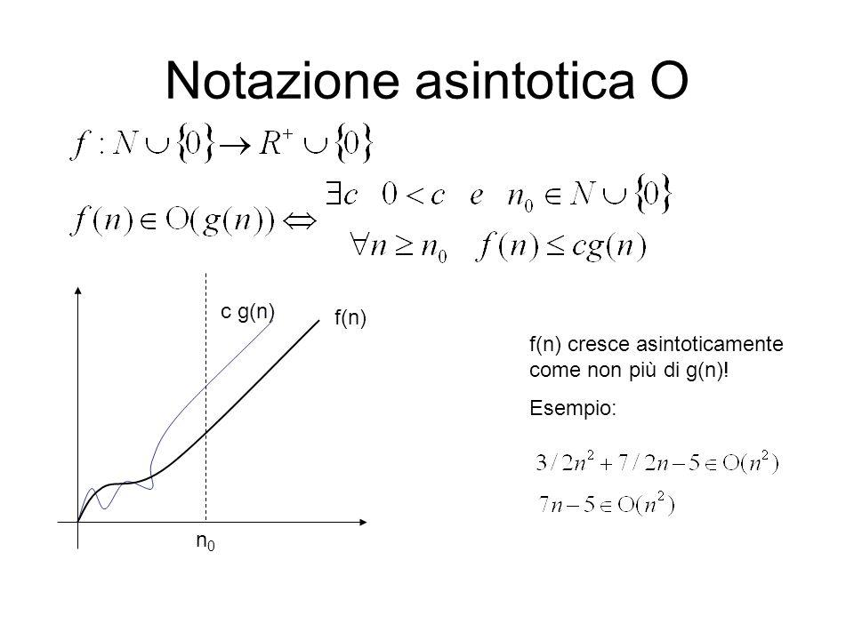 Notazione asintotica О
