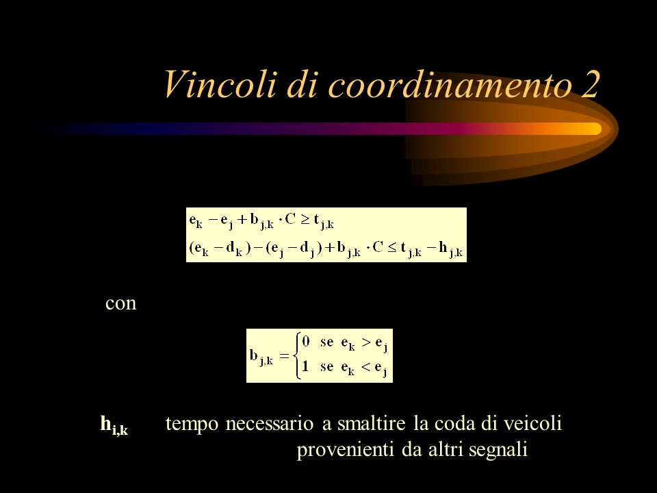 Vincoli di coordinamento 2