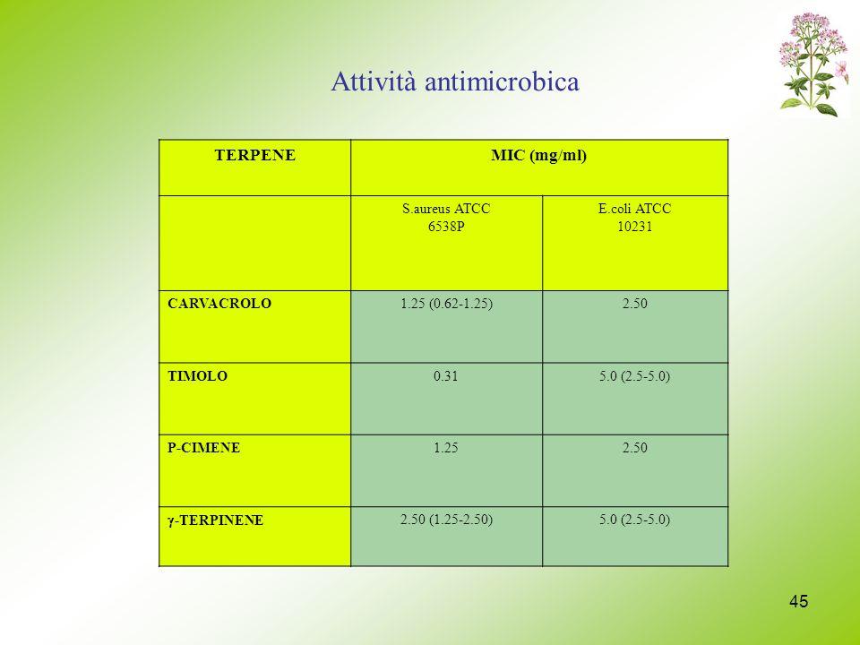 Attività antimicrobica