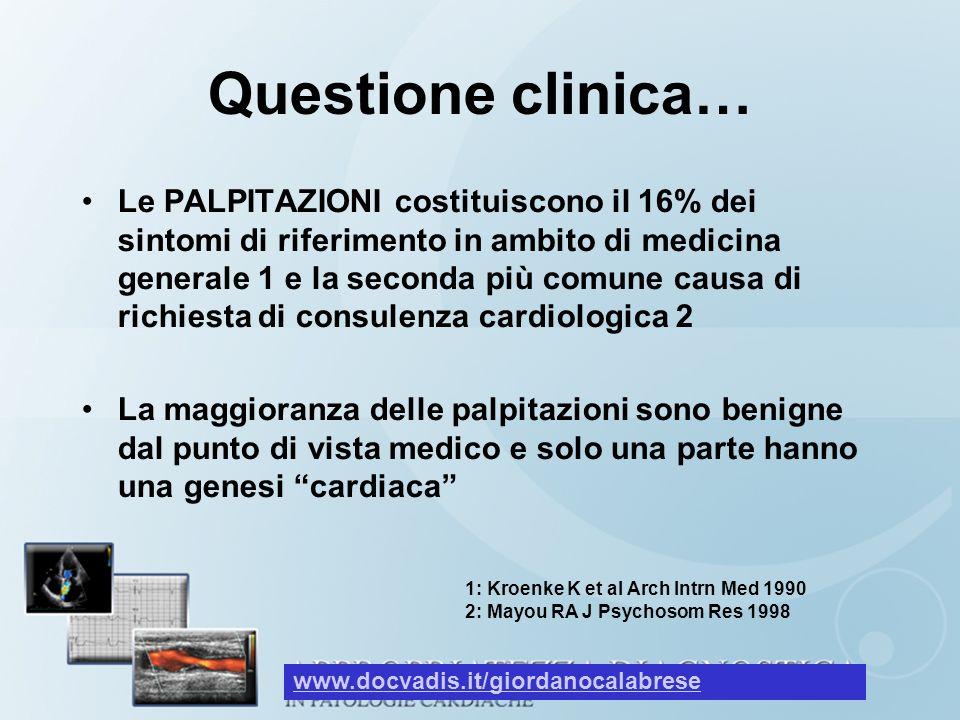 Questione clinica…