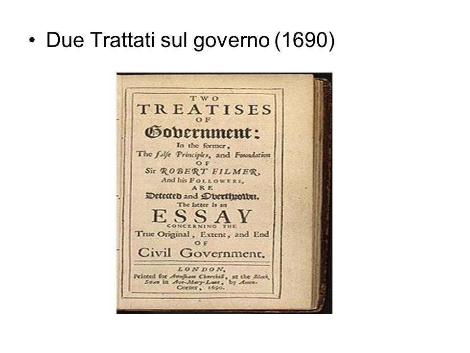 Due Trattati sul governo (1690)