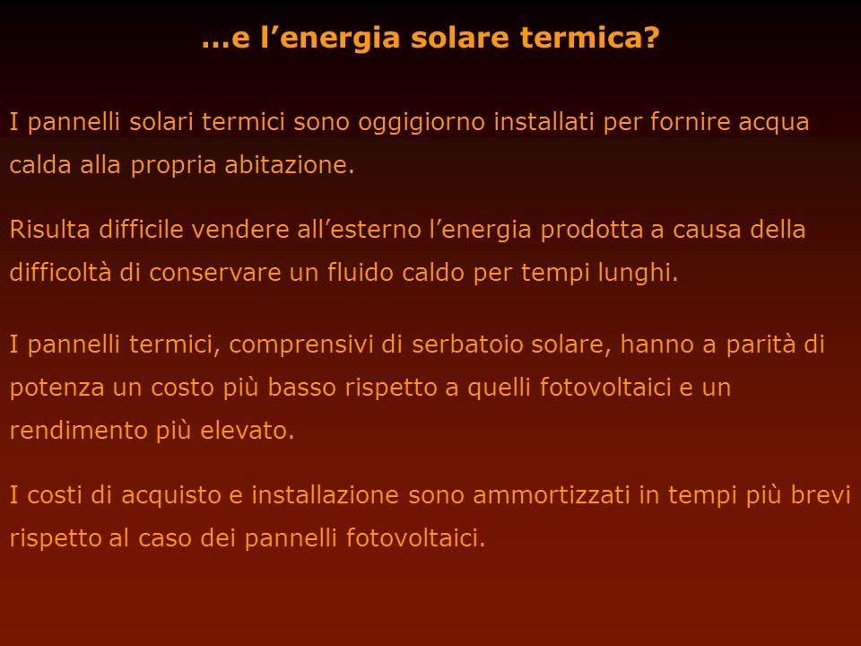 …e l'energia solare termica