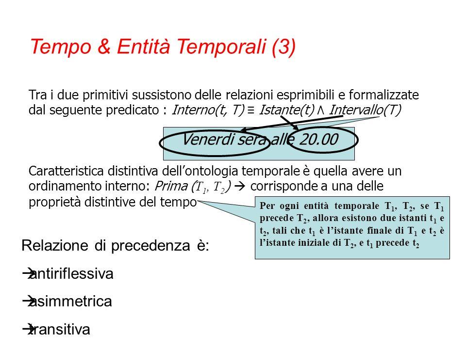 Tempo & Entità Temporali (3)