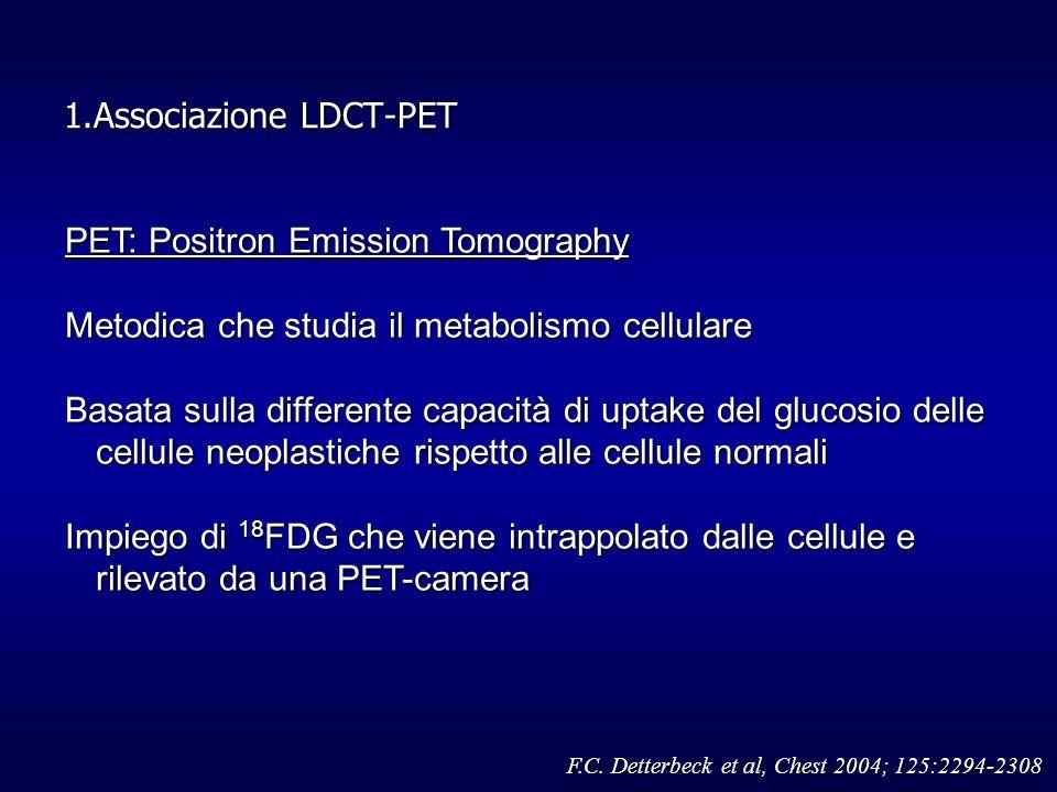 1.Associazione LDCT-PET