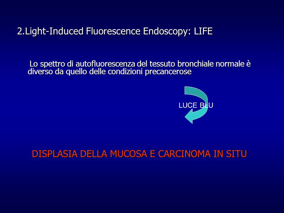 2.Light-Induced Fluorescence Endoscopy: LIFE