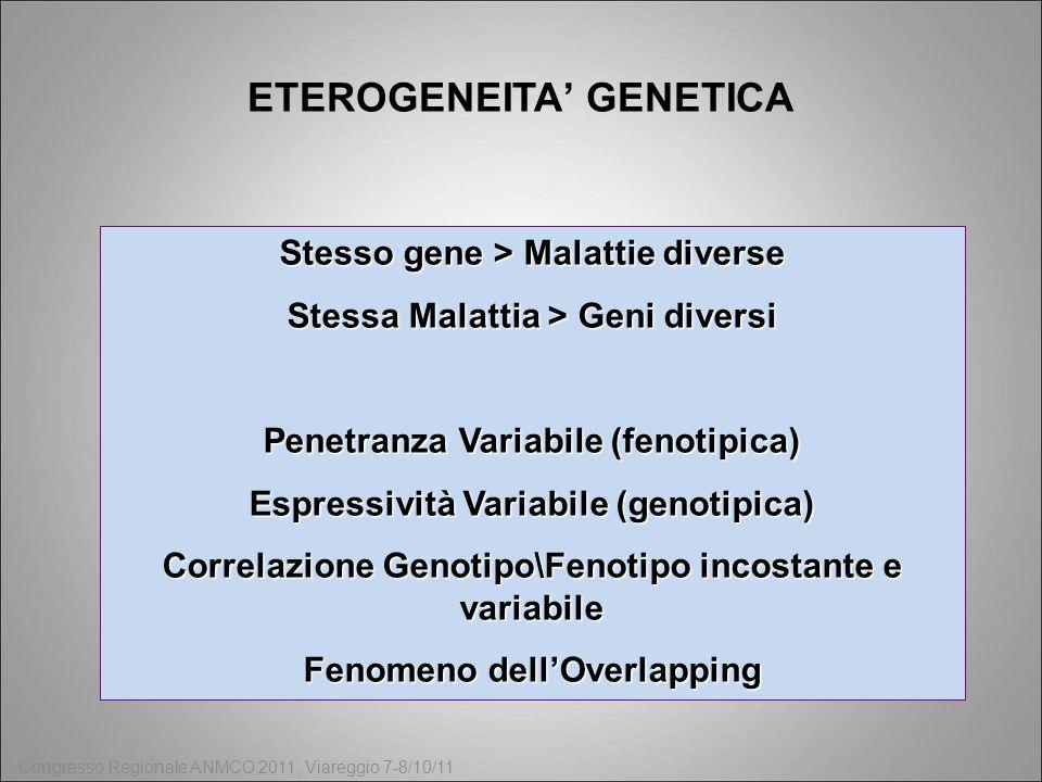 ETEROGENEITA' GENETICA