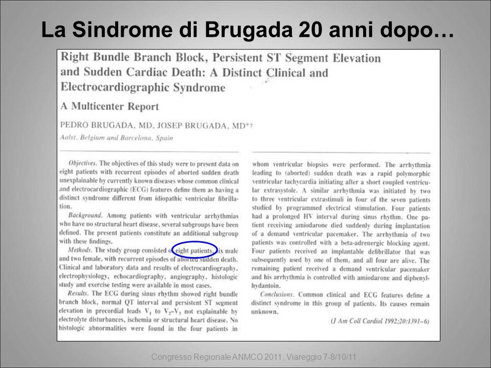 La Sindrome di Brugada 20 anni dopo…