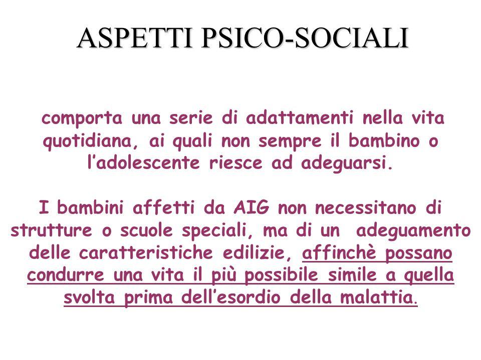 ASPETTI PSICO-SOCIALI