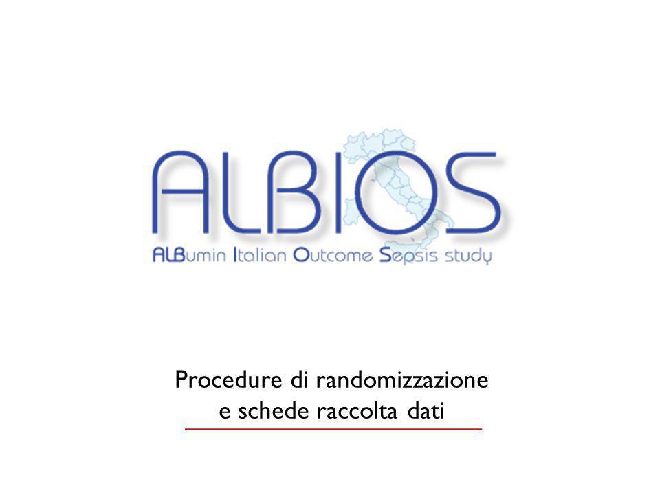 Procedure di randomizzazione