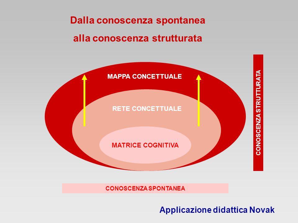 Dalla conoscenza spontanea alla conoscenza strutturata