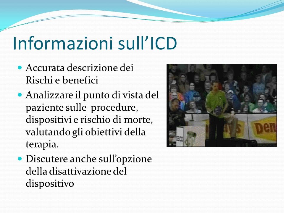 Informazioni sull'ICD