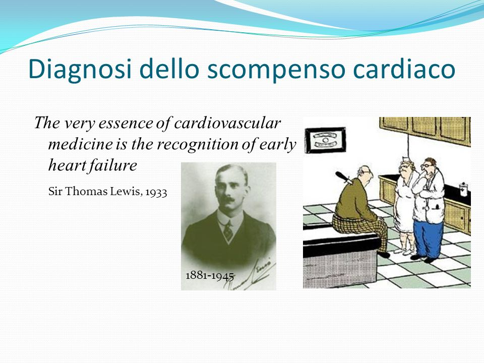 Diagnosi dello scompenso cardiaco