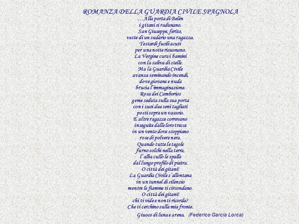 ROMANZA DELLA GUARDIA CIVILE SPAGNOLA