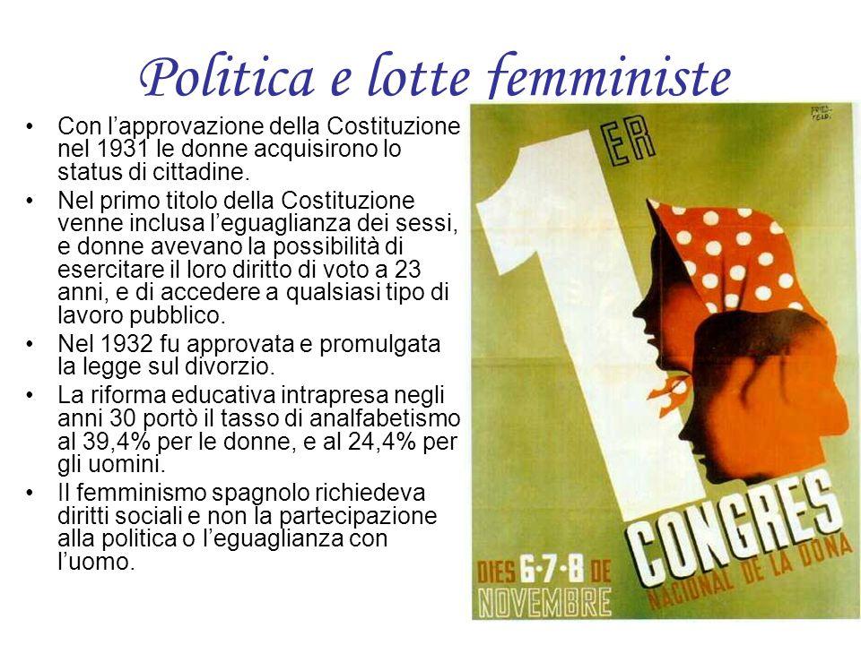 Politica e lotte femministe