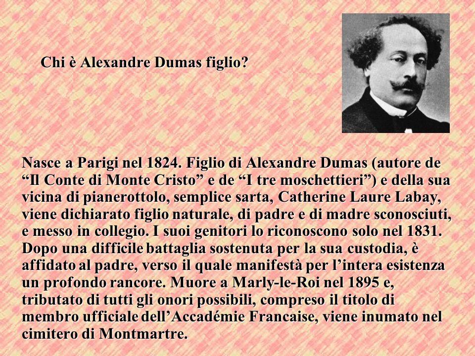 Chi è Alexandre Dumas figlio