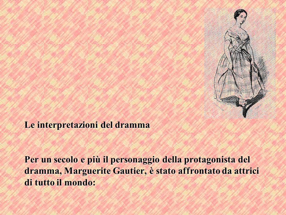 Le interpretazioni del dramma