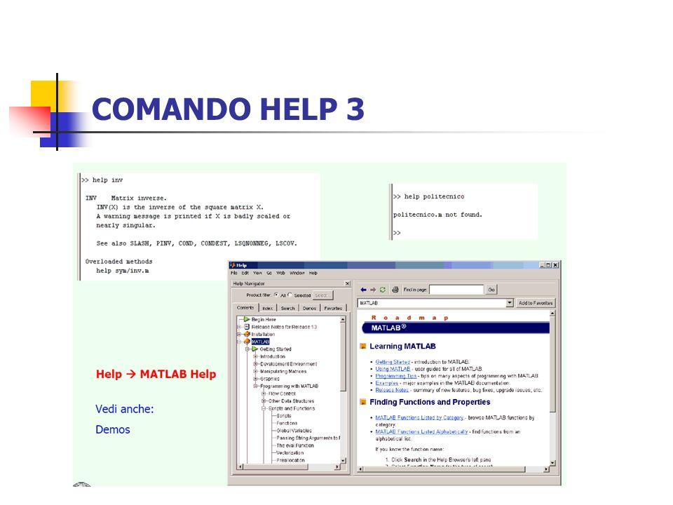 COMANDO HELP 3