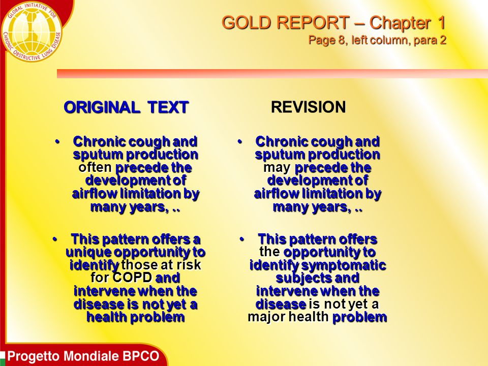 GOLD REPORT – Chapter 1 Page 8, left column, para 2