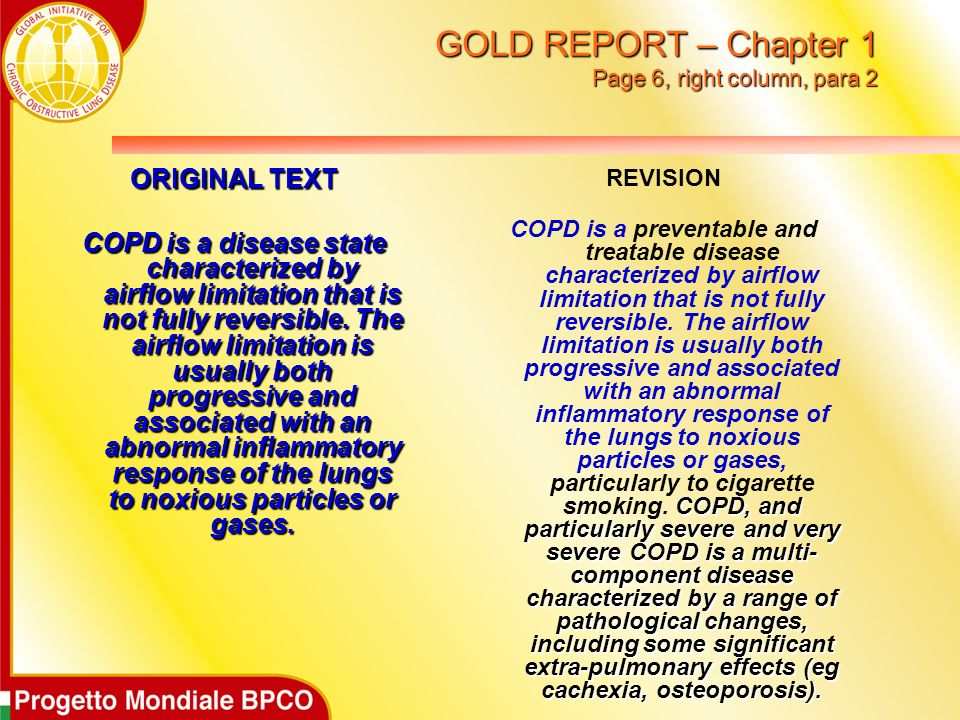 GOLD REPORT – Chapter 1 Page 6, right column, para 2