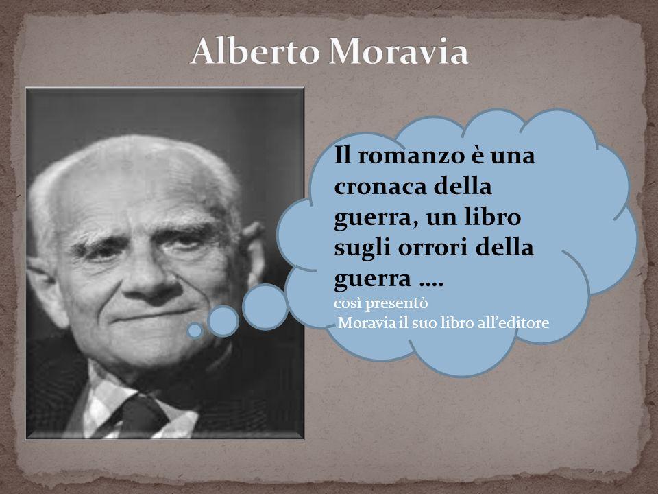 Alberto Moravia Il romanzo è una