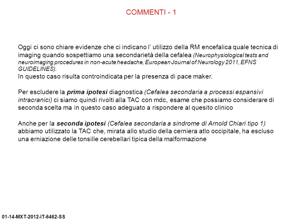 COMMENTI - 1
