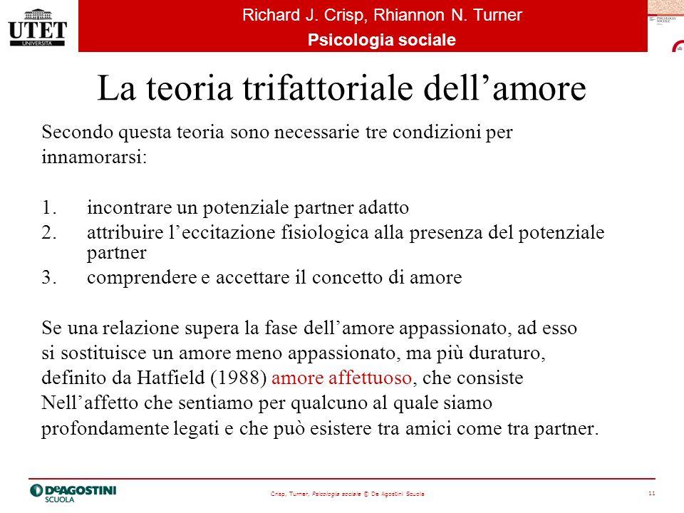 La teoria trifattoriale dell'amore