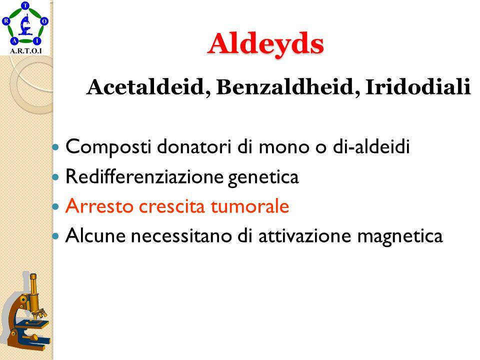 Aldeyds Composti donatori di mono o di-aldeidi