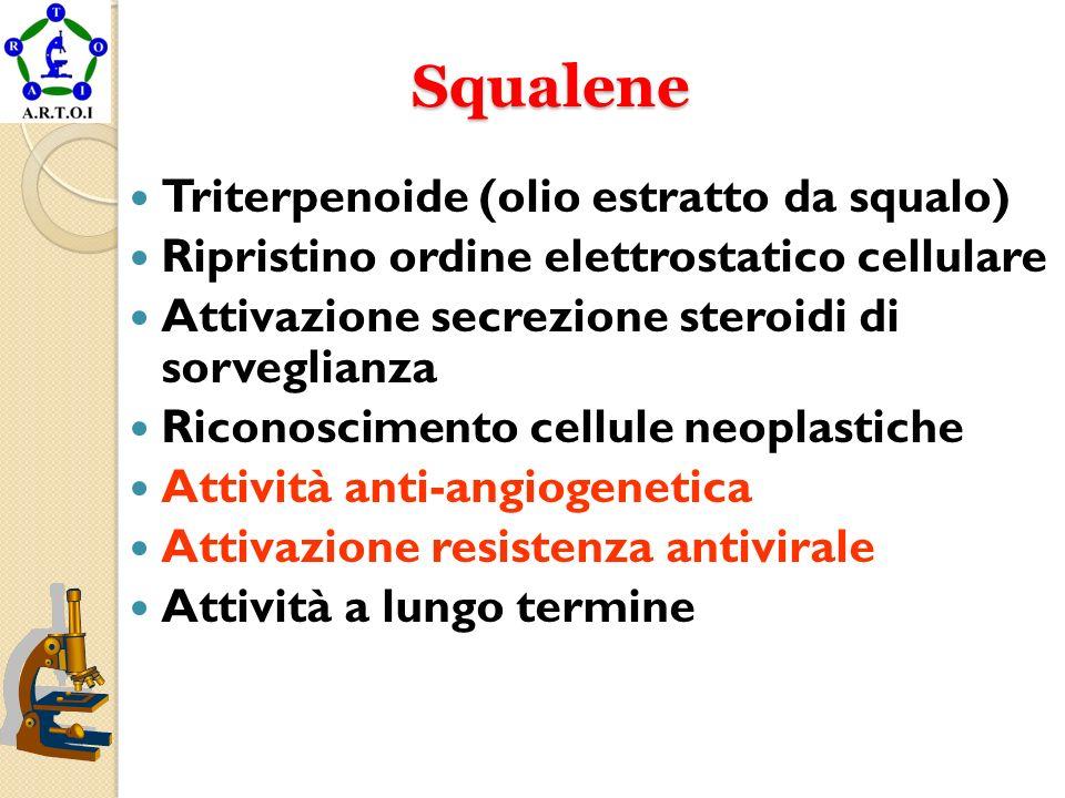 Squalene Triterpenoide (olio estratto da squalo)