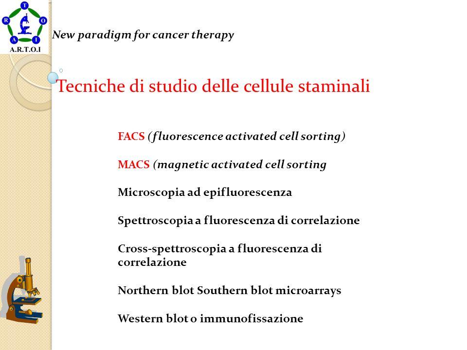 Tecniche di studio delle cellule staminali