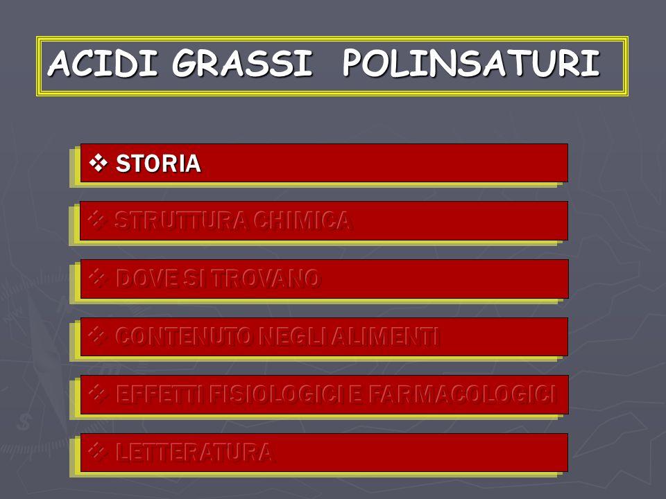 ACIDI GRASSI POLINSATURI