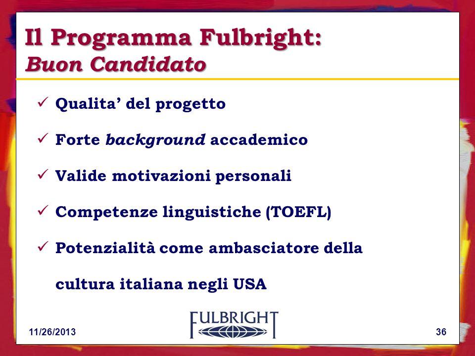 Il Programma Fulbright: