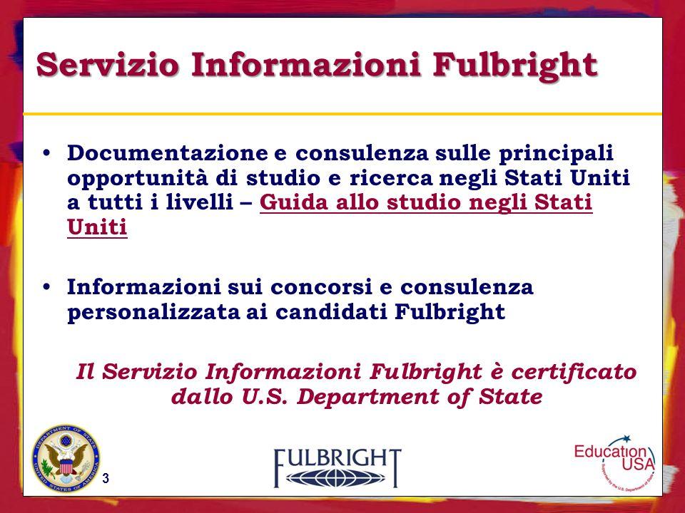 Servizio Informazioni Fulbright