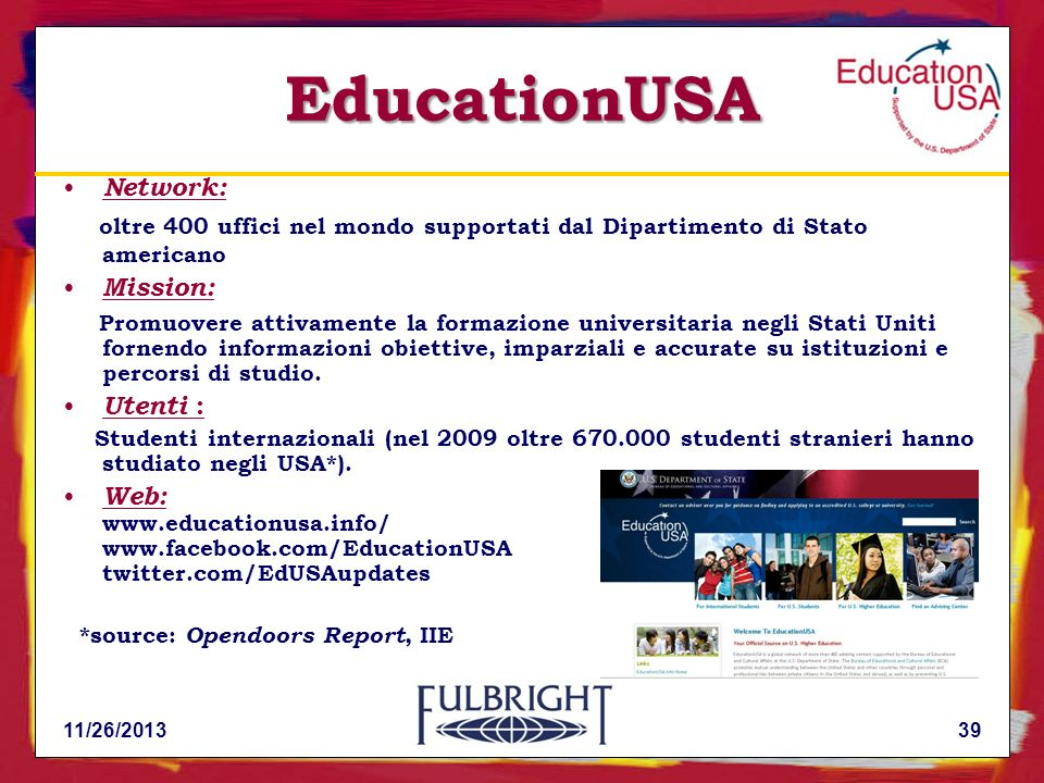 EducationUSA Network: