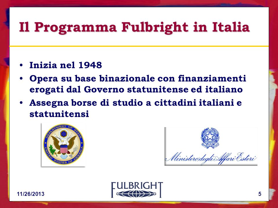 Il Programma Fulbright in Italia