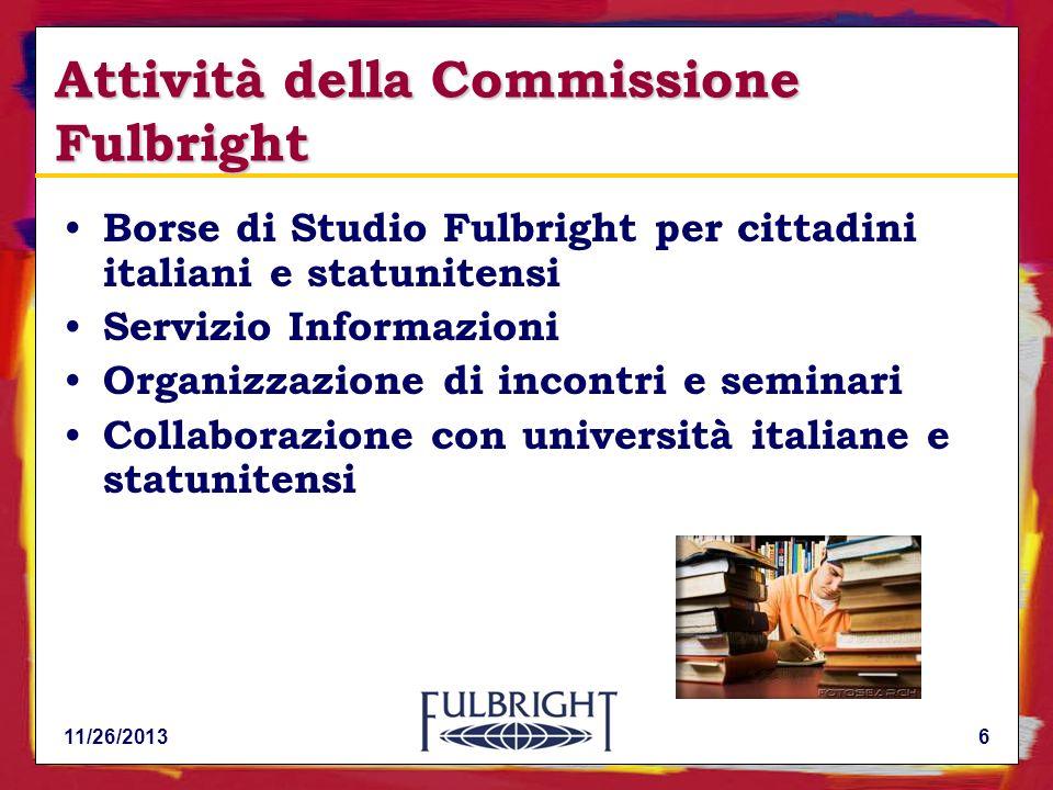 Attività della Commissione Fulbright