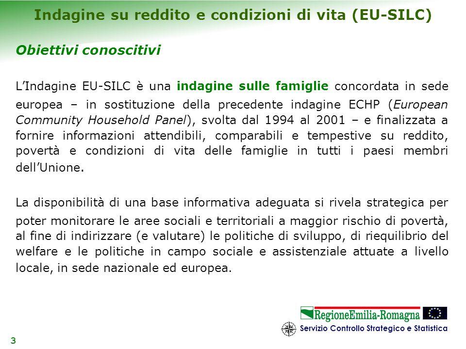 Indagine su reddito e condizioni di vita (EU-SILC)
