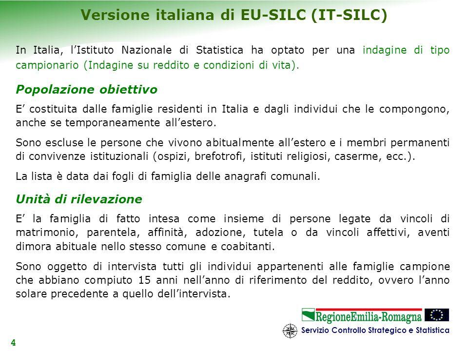 Versione italiana di EU-SILC (IT-SILC)