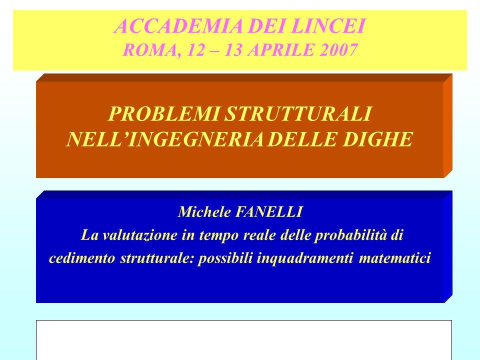 ACCADEMIA DEI LINCEI ROMA, 12 – 13 APRILE 2007