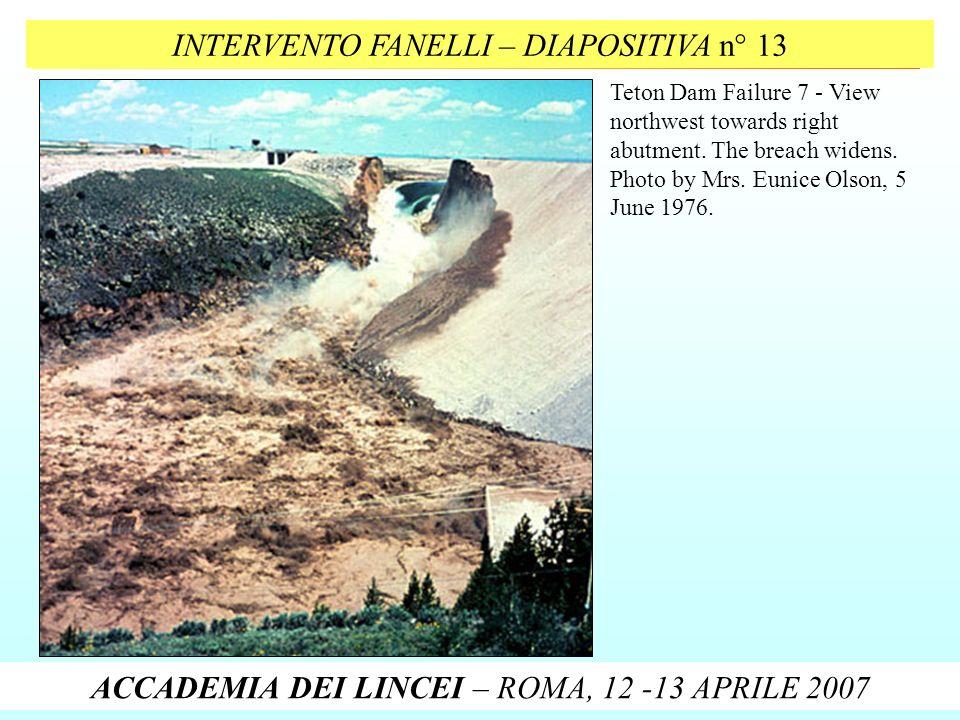 INTERVENTO FANELLI – DIAPOSITIVA n° 13