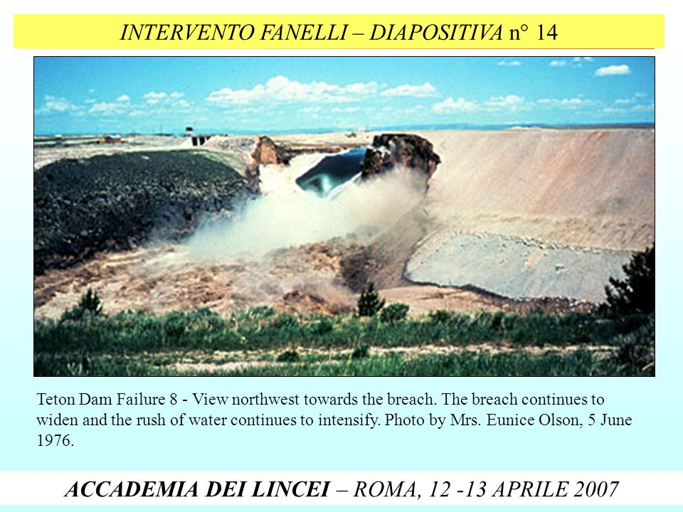 INTERVENTO FANELLI – DIAPOSITIVA n° 14