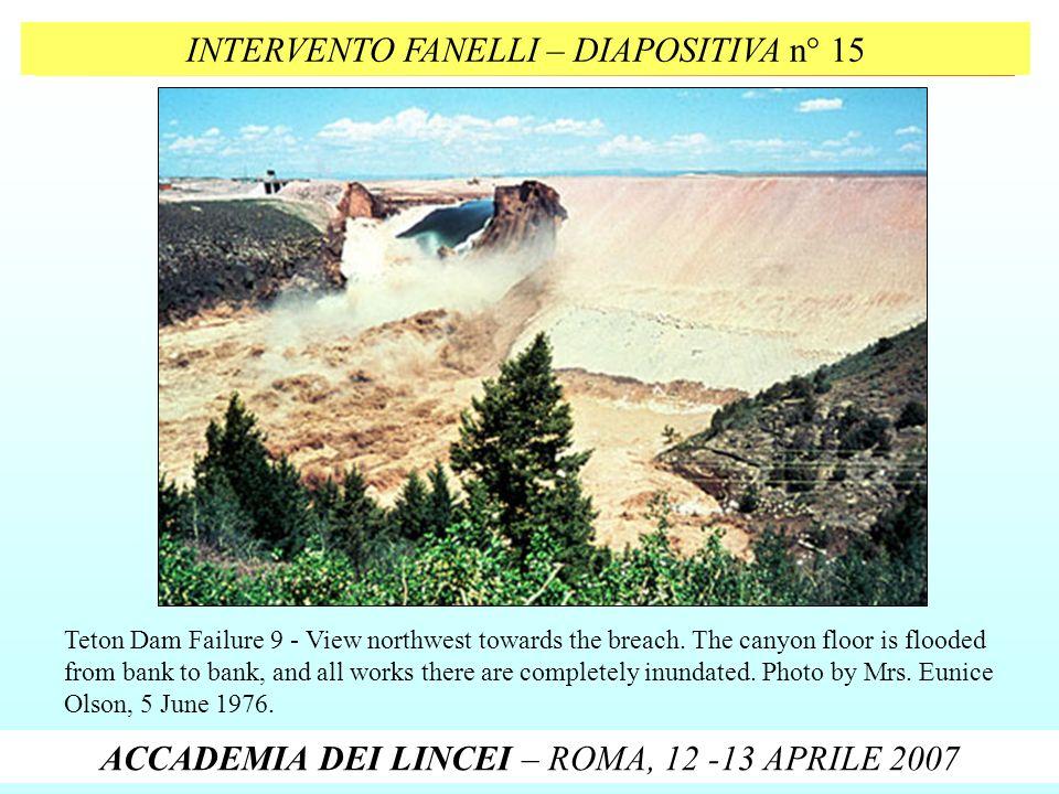 INTERVENTO FANELLI – DIAPOSITIVA n° 15