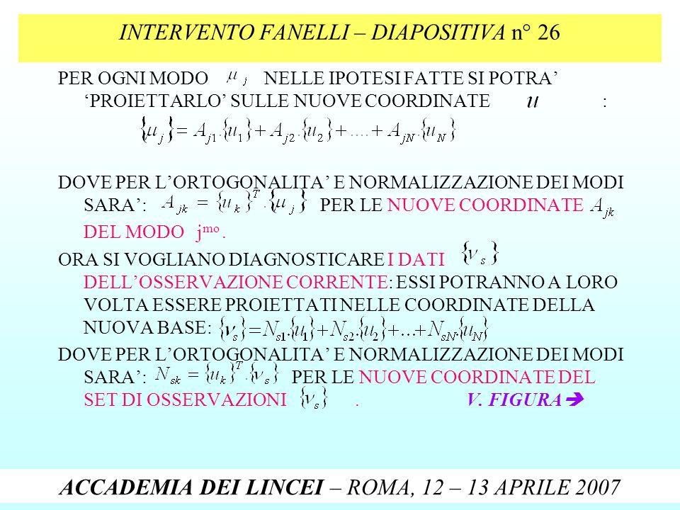 INTERVENTO FANELLI – DIAPOSITIVA n° 26