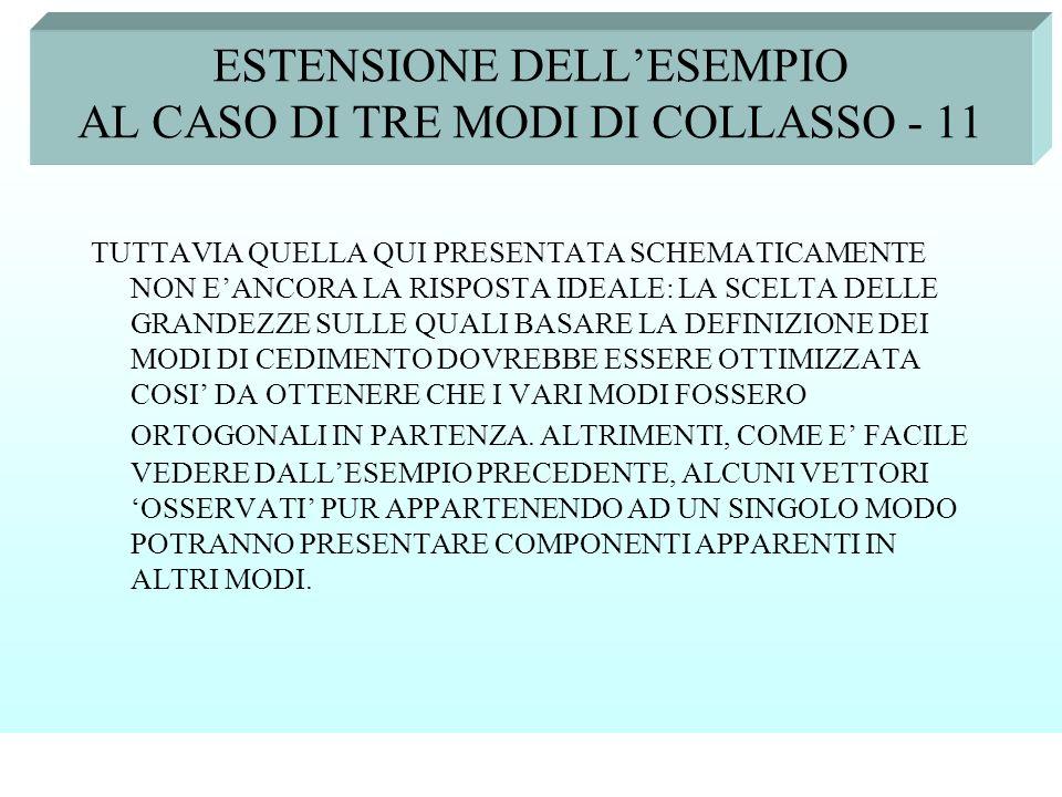 ESTENSIONE DELL'ESEMPIO AL CASO DI TRE MODI DI COLLASSO - 11