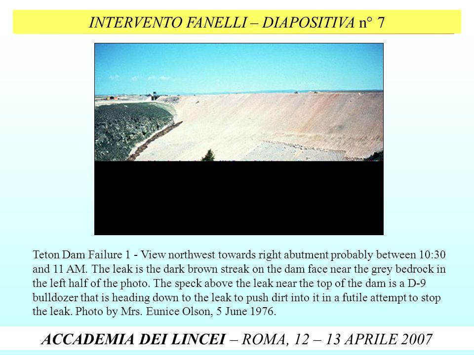 INTERVENTO FANELLI – DIAPOSITIVA n° 7