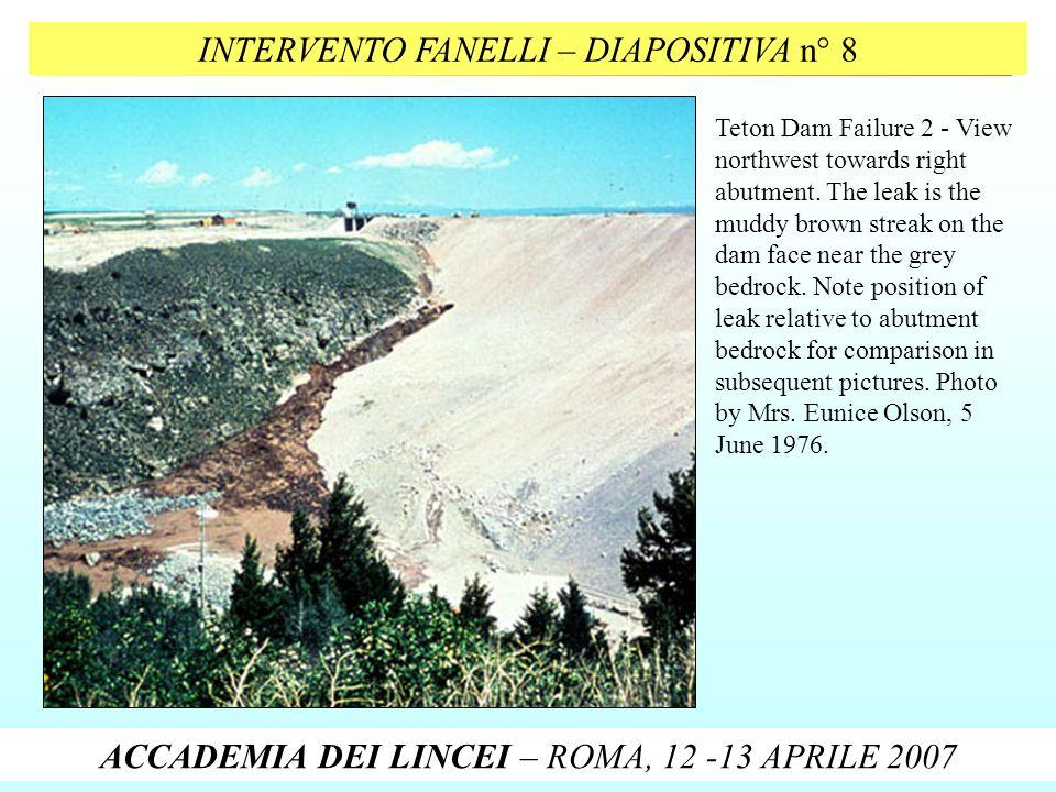 INTERVENTO FANELLI – DIAPOSITIVA n° 8