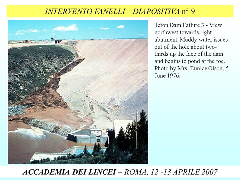 INTERVENTO FANELLI – DIAPOSITIVA n° 9