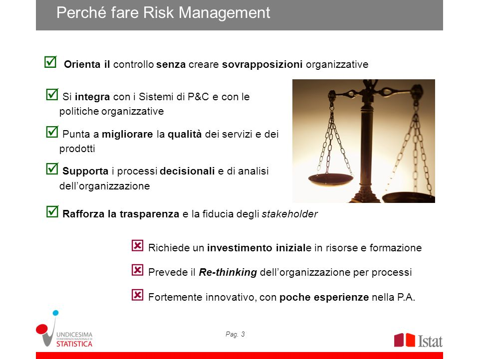 Perché fare Risk Management